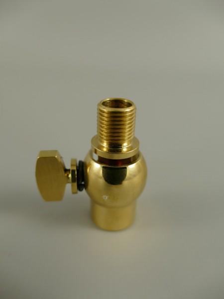 Gewricht für LAMPEN L.19mm M10x1 MESSING