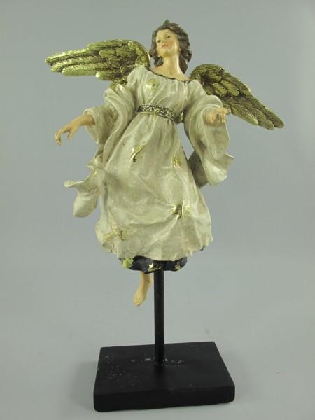 Engel Polystein gold farbig H.42x32cm