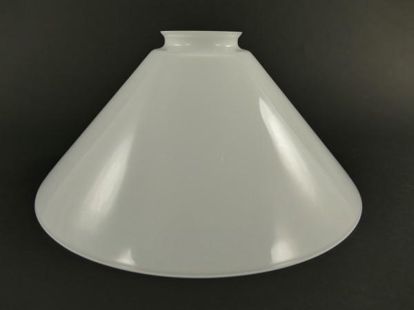 Lampenschirm weiß Gh.6cm D.25cm
