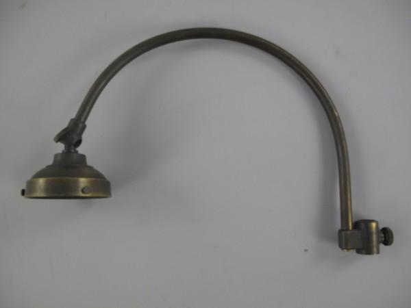 Lampenarm Messing brüniert L.30x22x7cm