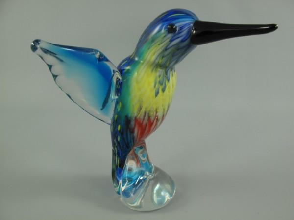 Glasfigur VOGEL farbe H.20x20x15cm