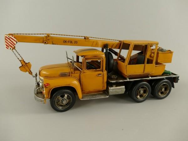 Krahnwagen Antik Eisen L.47x17x13cm