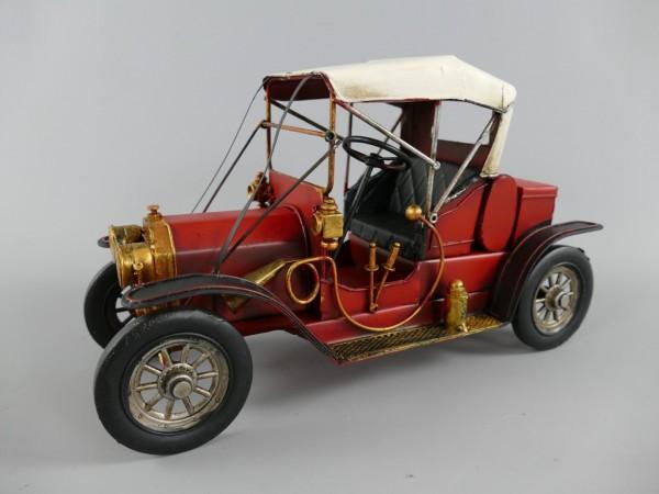 Auto rot Antik Eisen L.31x18x12cm