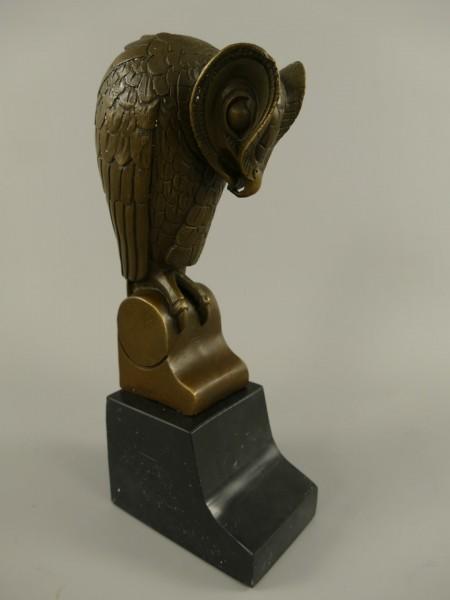 *ANG. Figur Bronze Vogel H.25x10cm