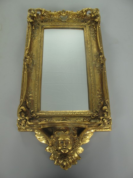 Wandspiegel Barock GOLD H.65cm