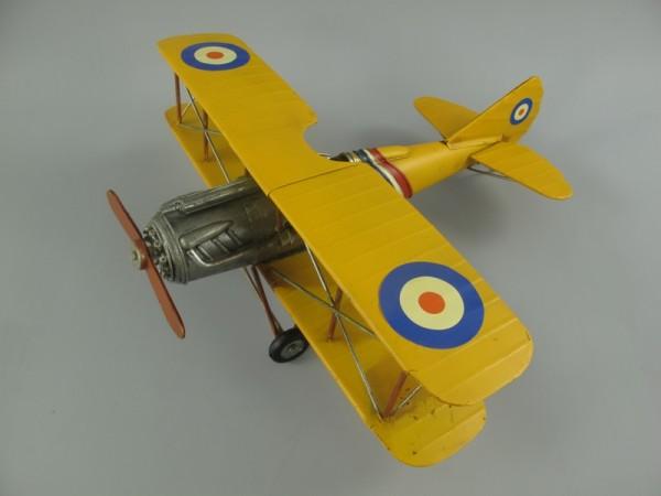 Flugzeug Antik Eisen L.39x42cm