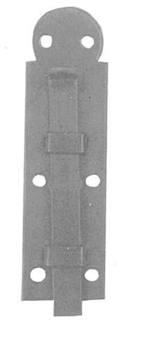 Schubriegel gerade Eisen L.65mm