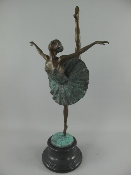 Bronze Figur TANZERIN H.68x36cm