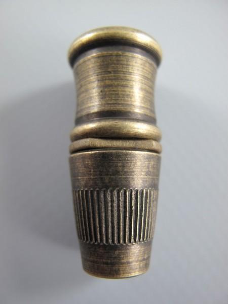 Zügentlaster 14x18mm M10(AUSSEN) Messing brüniert