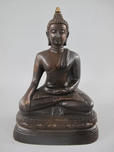 *NT Buddha Sitz BRONZE H.20x14x8cm