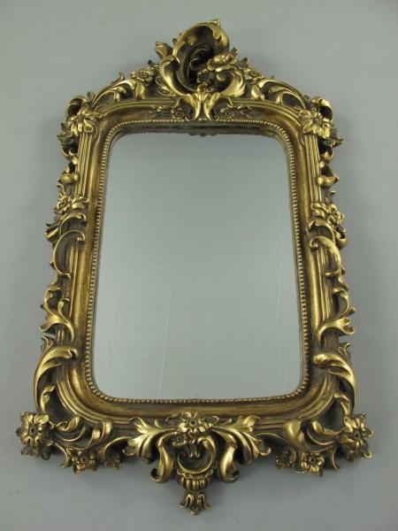 Wandspiegel Polystein GOLD H.60x38cm