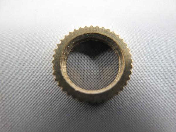 Messing runde kartelmutterr(Ring) M10x1 13x2.5mm