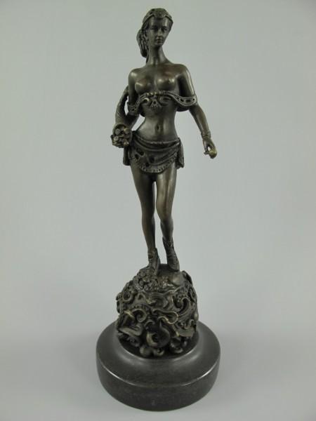 Figur Bronze FRAU H.24x9cm