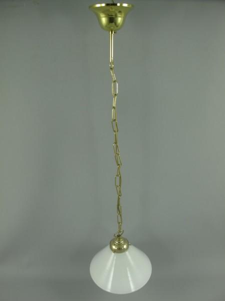 Lampe Messing Schirm(293.100W23) GH.6-H.80cm