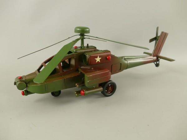Hubschrauber Antik Eisen L.40x20cm