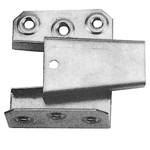 Keilbeschlag unten Eisen 60x80mm