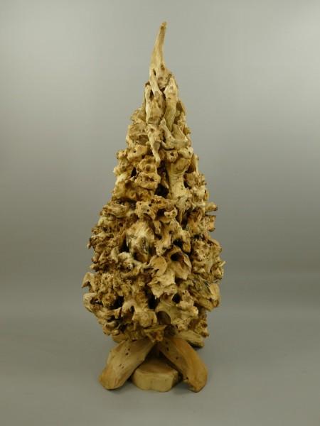 *NT Deko Weinachtsbaum Teak Holz H.135cm