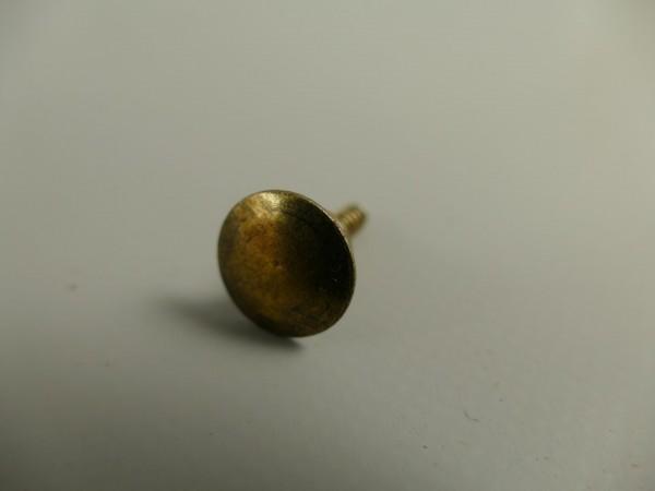 Messingknopf brüniert 16mm