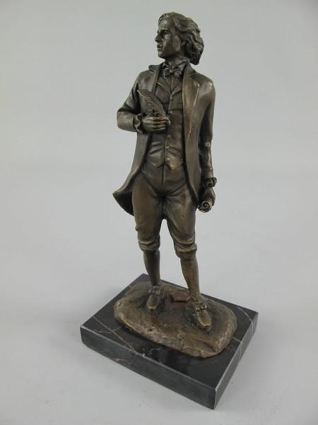Figur Bronze Mozart H.22x10cm