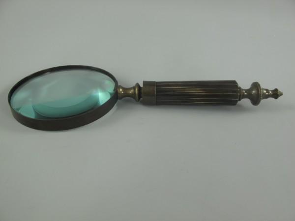 Lupe Messing brüniert(BRONZE) L.26x10cm