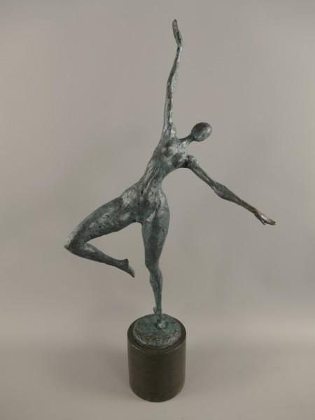 Figur Bronze Frau H.63x31cm