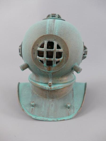 Taucherhelm Kupfer H.20x20cm PATINA!!!!!!