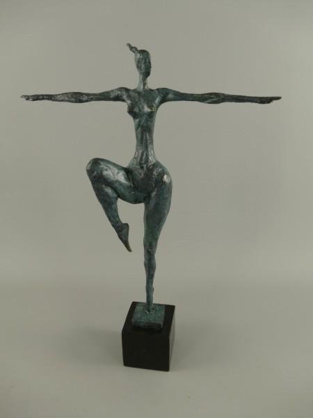 Figur Bronze Tanzerin H.52x36cm