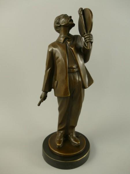 Figur Bronze Vincent van Gogh H.26x10cm