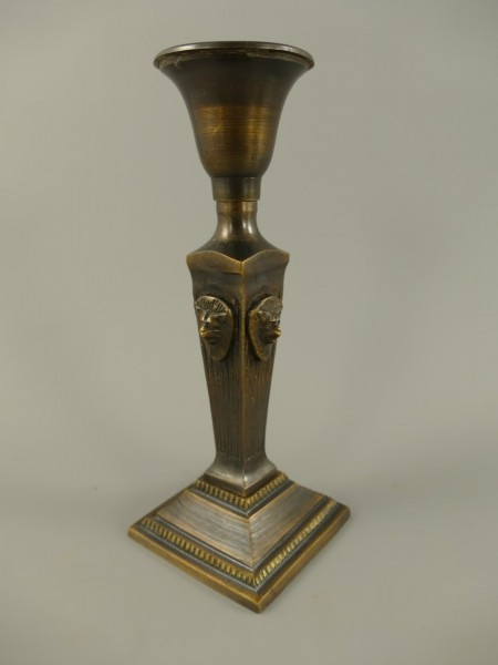Leuchter rustikal BRONZE H.21x8cm