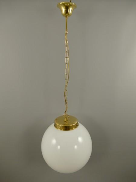 Lampe Mes. brün. Gehänge(111.151-5M) D.35-H.125cm