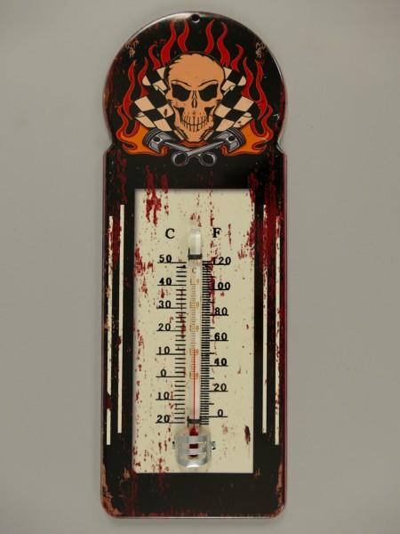Termometer Antik Eisen H.29x10cm
