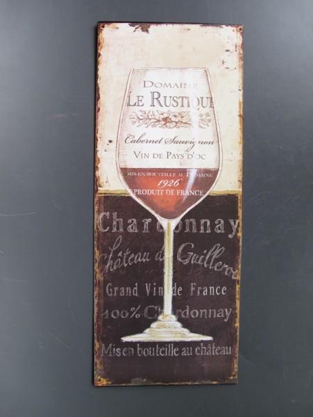 Wandschild Eisen Le Rustique H.50x20cm