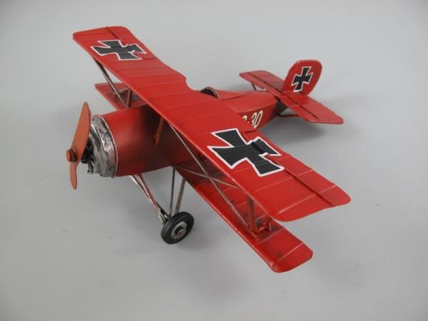 Flugzeug Antik Eisen L.25x25cm