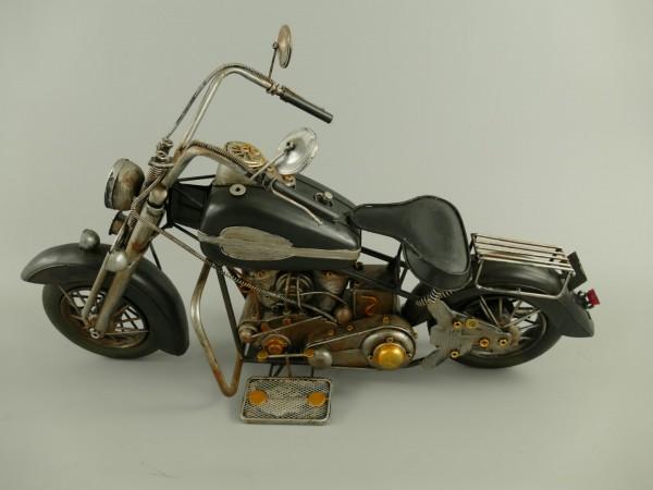 *ANG./JULI Motor Antik Eisen L.55x33cm