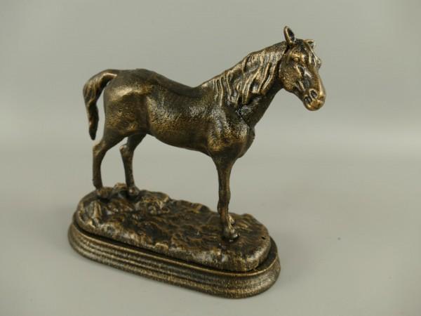 Pferd rustikal Eisen L.21x20cm