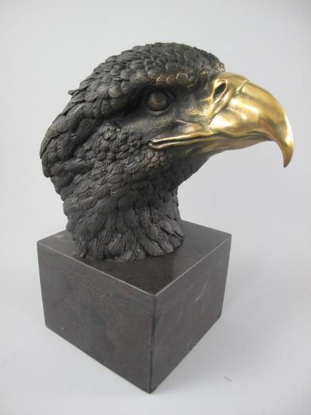 Figur Bronze ADLER!! H.27x23cm