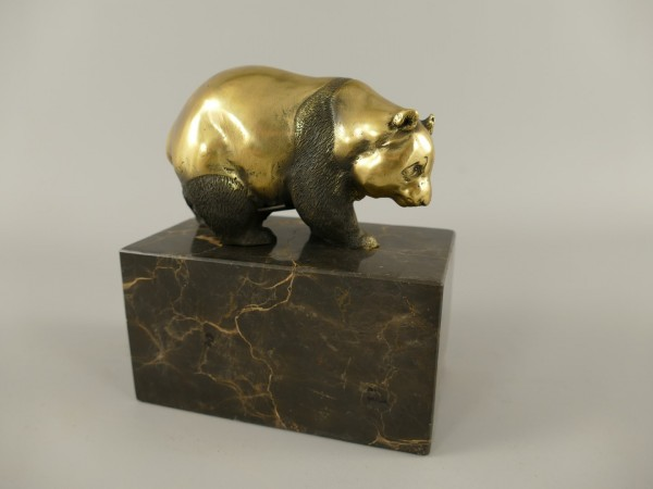 Bronze Figur Panda H.15x13cm