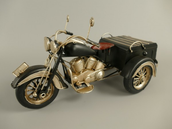Motorrad 3-Rad(Trike) Antik Eisen L.30x15cm