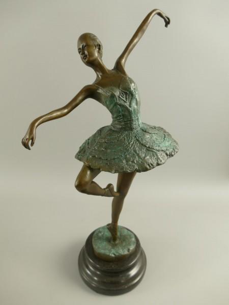 Bronze Figur Tänzerin H.42x25cm
