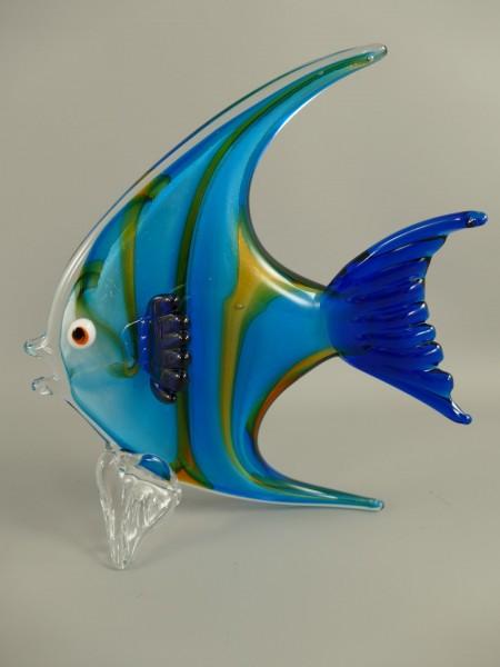 Glasfigur FISCH farbe H.26x23cm