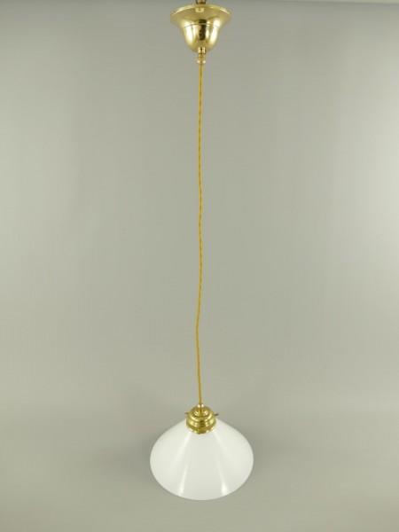 GH(Stofk.)Messing Schirm(151.100W25) E27-H.98cm