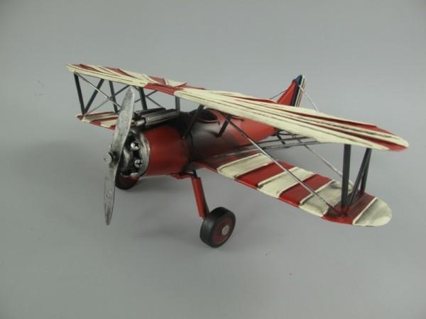 Flugzeug Antik Eisen L.26x32cm