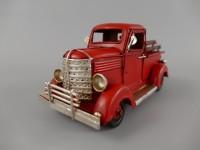 *ANG./JULI Auto PICKUP!! Antik Eisen rot L.17x8cm