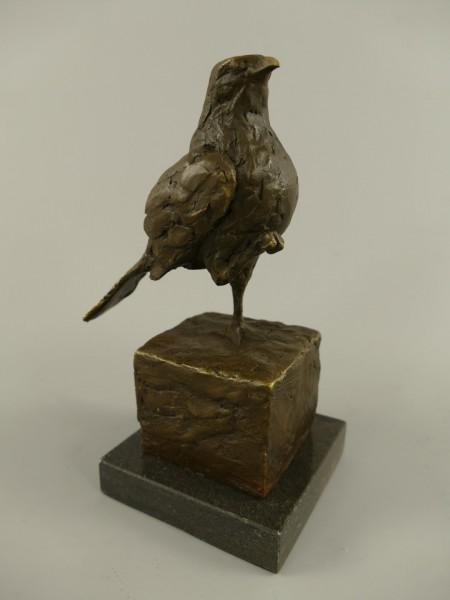Figur Bronze Vogel H.20x13cm