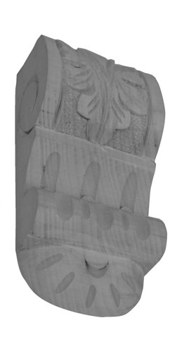 Möbelschnecke Linde 65x130mm