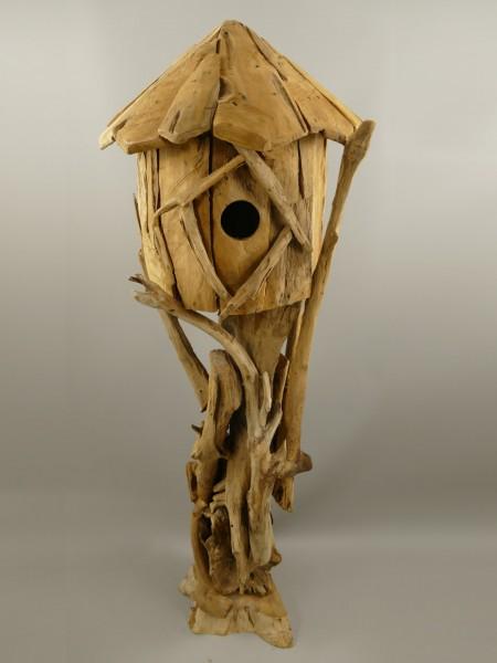 *NT Vogelhaus Teak Holz H.150x55cm