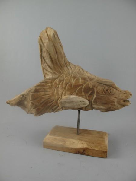 *NT Fisch TEAK H.35-42cm