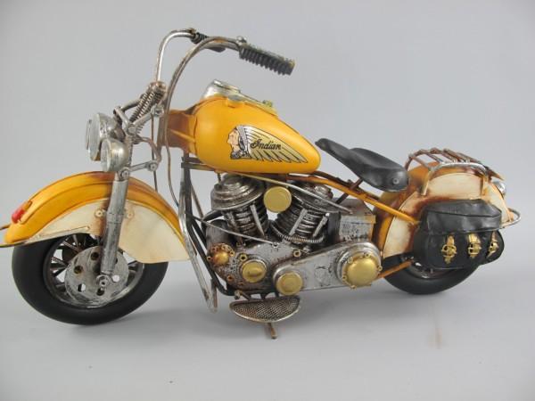 Motor GELB Antik Eisen L.42x22cm