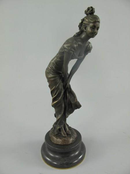 Figur Bronze FRAU H.22x8cm