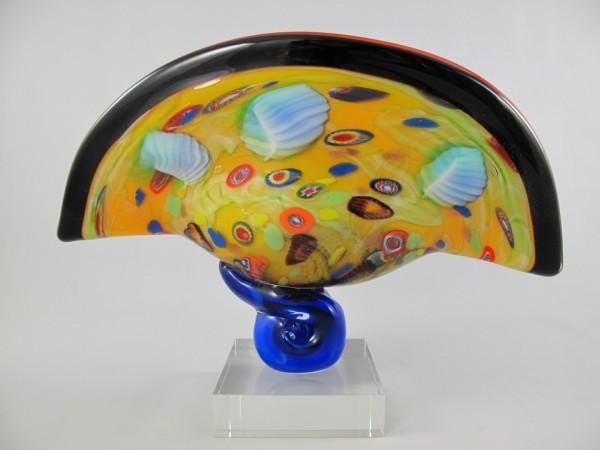 Glas Vase farbe H.32x46cm